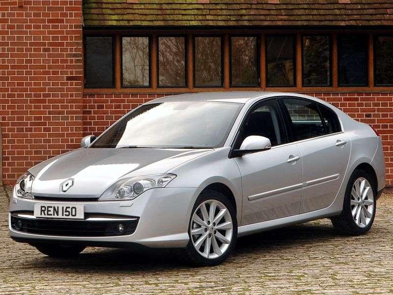 Renault Laguna 3 generation hatchback 2.0 MT (2007 – present)