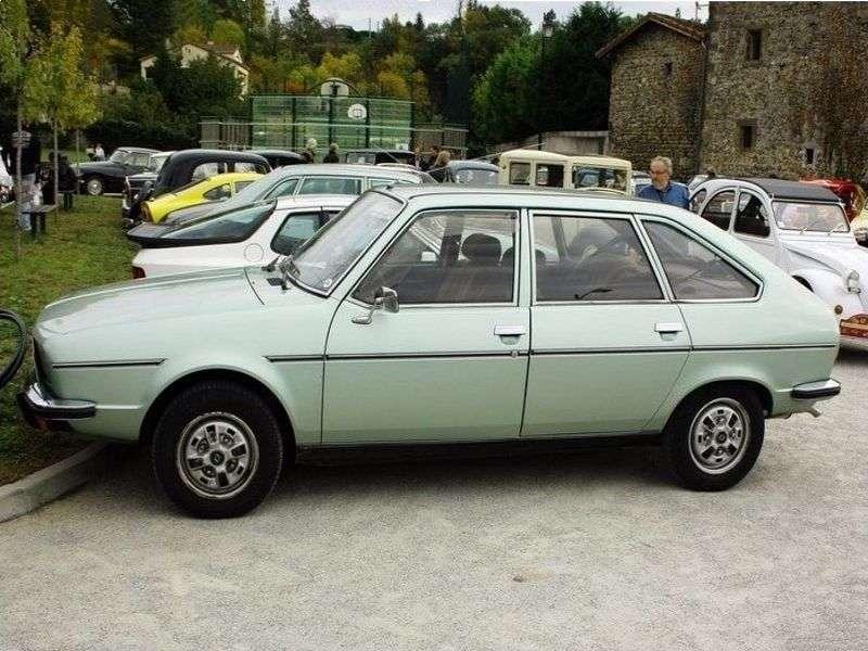 Renault 20 1st generation hatchback 1.6 MT (1977–1984)