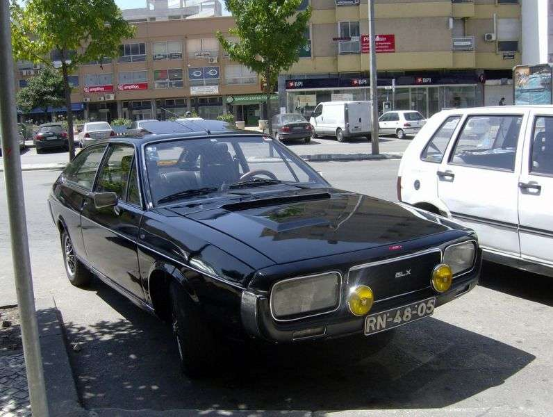 Renault 15 1st generation [restyled] coupe 1.6 MT (1976–1979)