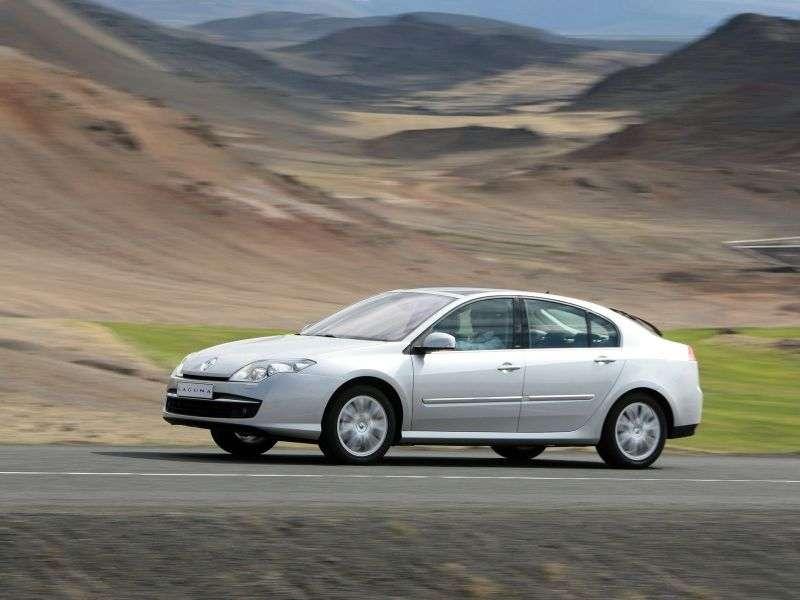 Renault Laguna 3 generation hatchback 2.0 dCi MT (2007 – n.)