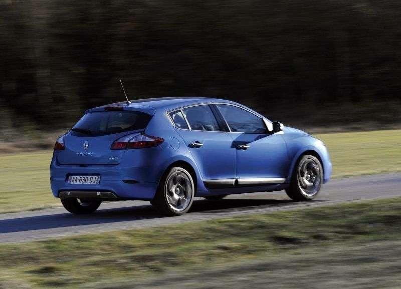 Renault Megane 3rd generation GT hatchback 5 dv. 2.0 dCi MT (2009–2012)
