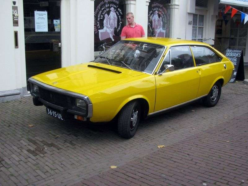 Renault 15 1st generation coupe 1.3 AT (1974–1976)