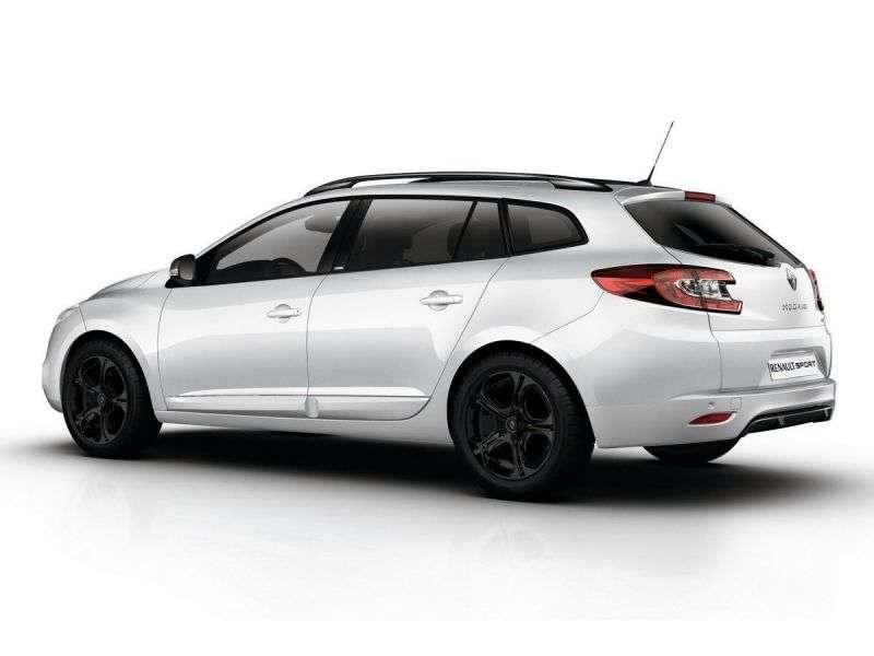 Renault Megane 3rd generation [restyling] GT wagon 2.0 TCe MT (2012 – v.)
