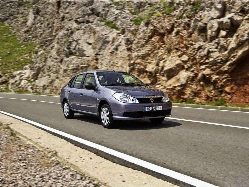 Renault Symbol 2 generacji sedan 1.6 MT Dynamique (2008 2012)