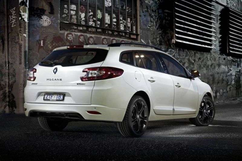 Renault Megane 3rd generation [restyled] GT wagon 2.0 dCi MT (2012 – n.)