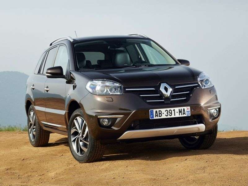 Renault Koleos 1st generation [2nd restyling] 2.5 MT 4WD Expression crossover (2013 – n.)