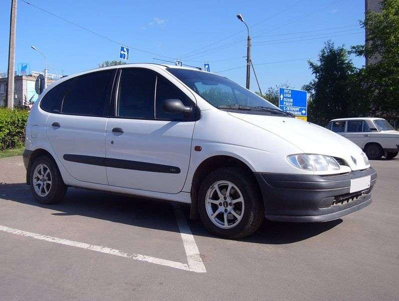 Renault Scenic 1st generation minivan 1.6 AT (1996–1999)