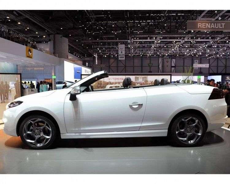 Renault Megane 3 generacji GT Convertible 2.0 dCi MT (2010 2012)