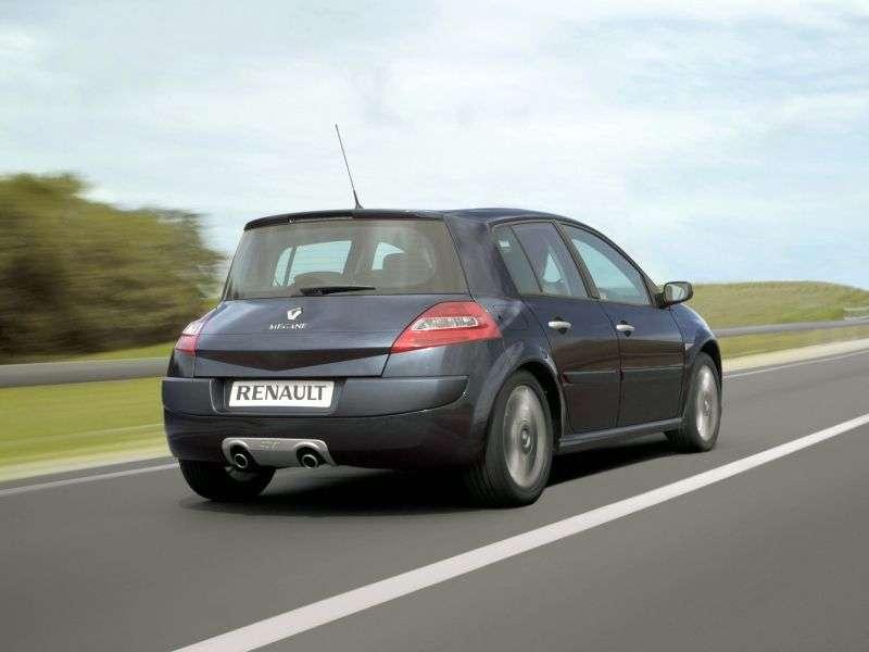 Renault Megane 2 nd generation [restyling] GT hatchback 5 dv. 2.0 dCi MT (2006–2008)