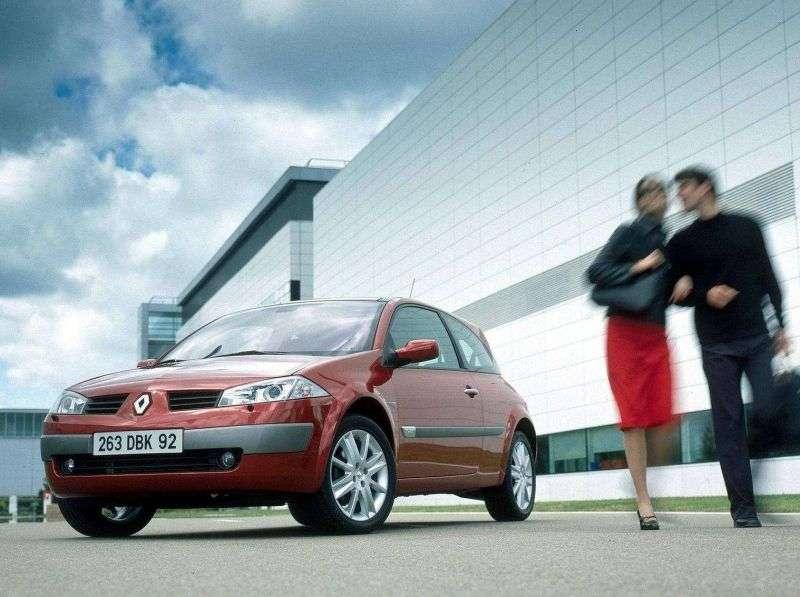 Renault Megane 2 generation hatchback 3 dv. 1.5 dCi AT (2002–2005)