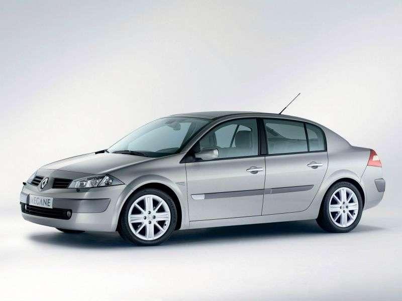 Renault Megane 2nd generation sedan 1.9 dCi MT (2003–2005)