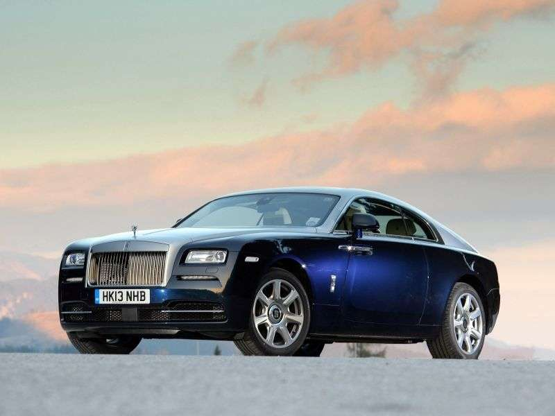 Rolls Royce Wraith 2nd generation coupe 6.6 AT Basic (2013 – n.)