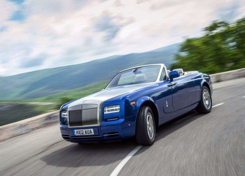Rolls Royce Phantom 7th generation [2nd restyling] Drophead Coupe convertible 6.7 AT Basic (2012 – n.)