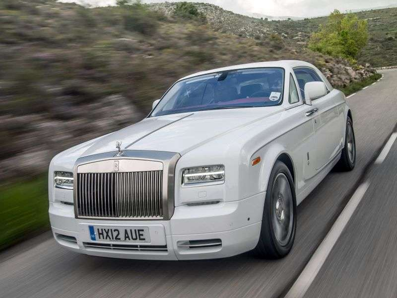 Rolls Royce Phantom 7th generation [2nd restyling] Coupe Coupe 6.7 AT Aviator Collection (2012 – n.)