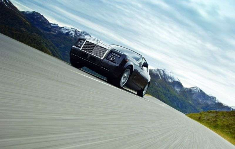 Rolls Royce Phantom 7th generation [restyling] Coupe Coupe 6.7 AT Basic (2009–2012)