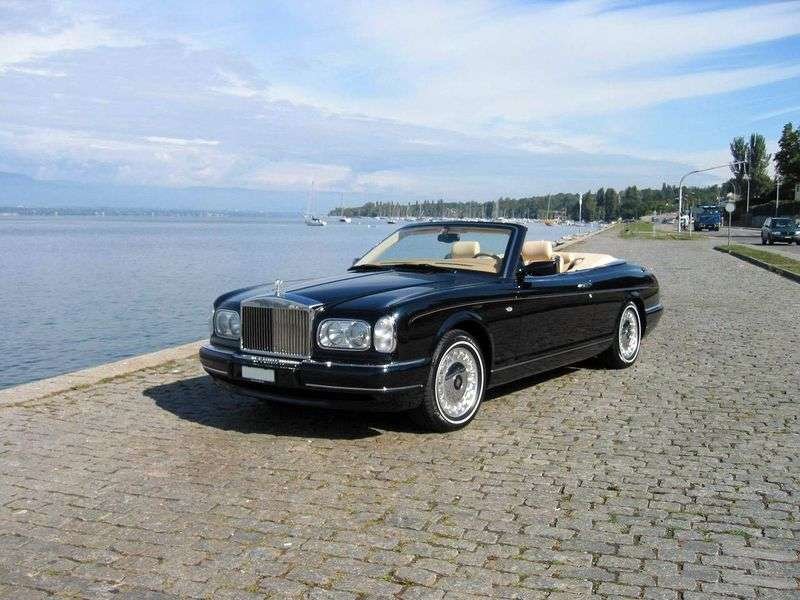 Rolls Royce Corniche 5th generation convertible 6.8 Turbo AT (2000 – n.)