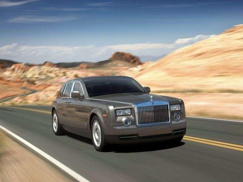 Rolls Royce Phantom 7th generation [restyling] sedan 6.7 AT EWB Basic (2008–2012)