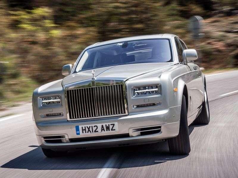 Rolls Royce Phantom 7th generation [2nd restyling] 6.7 AT SWB sedan (2012 – n.)