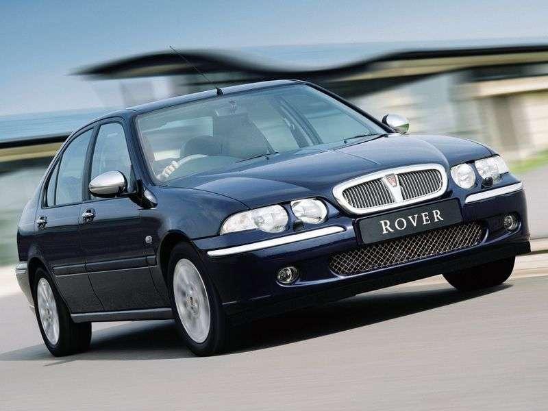 Rover 45 1st generation sedan 1.6 MT (1999–2005)
