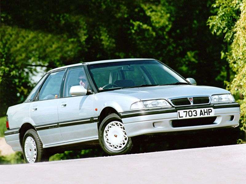Rover 400 Series R8 sedan 416 MT GTI (1990–1995)