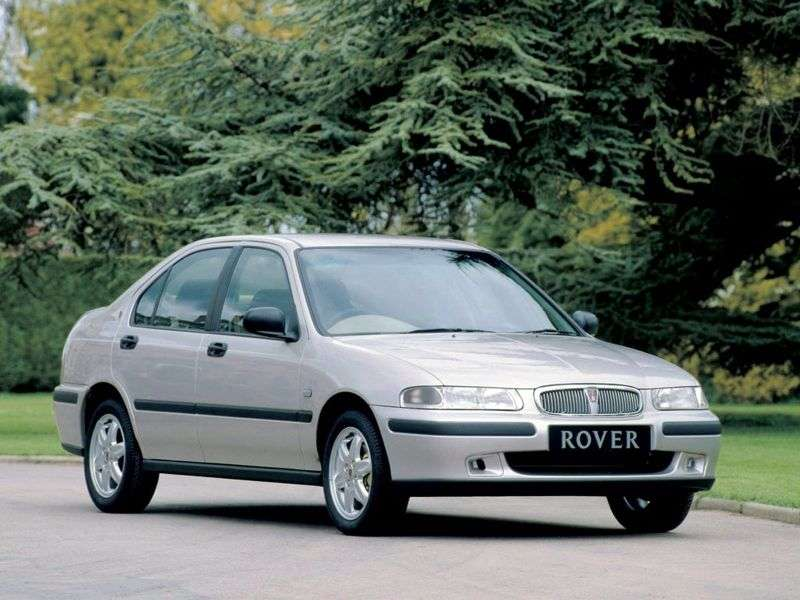 Rover 400 Series R8 sedan 416 MT GSI (1990 1995)
