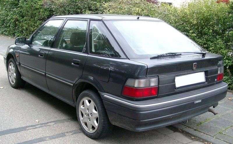 Rover 200 Series R8hatchback 220 MT Turbo (1993–1995)