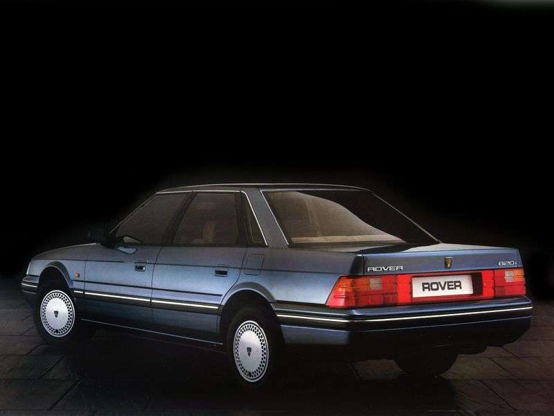 Rover 800 Series 1st generation sedan 827 MT (XS) (1988–1991)