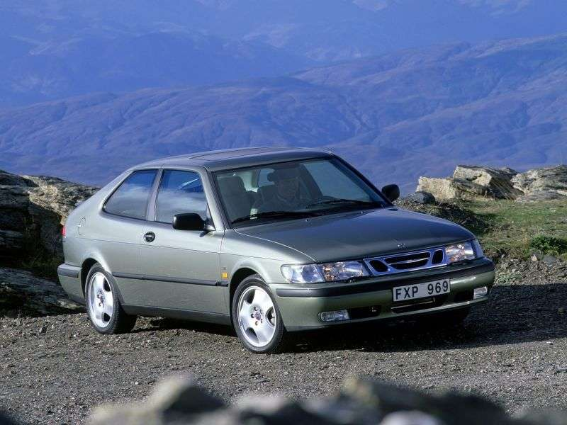 Saab 09.mar 1st generation coupe 2.0 MT (2000–2002)