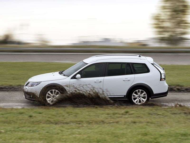 Saab 09.mar 2 generation [restyling] X crossover 2.0 MT AWD BioPower (2009 – n.)