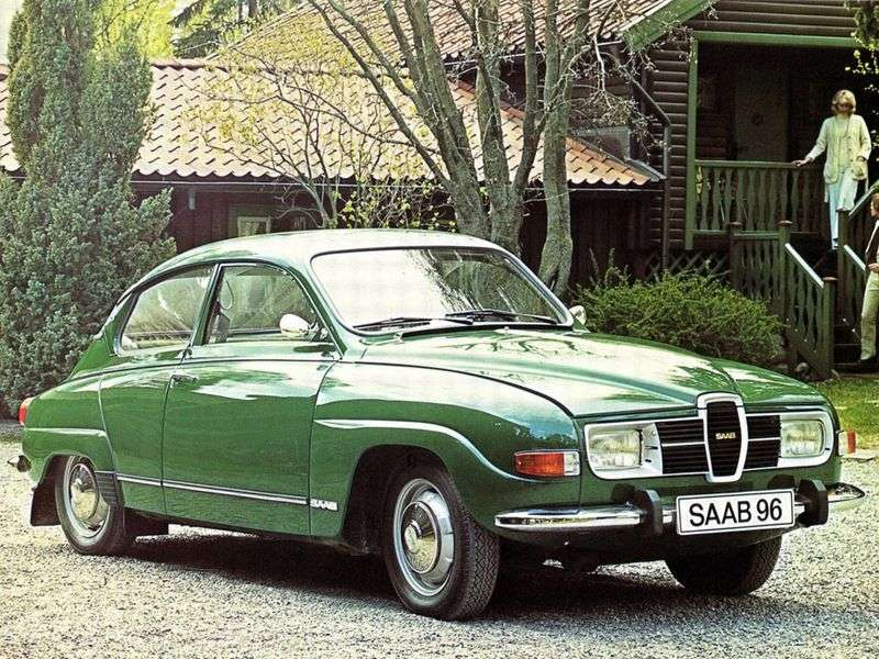 Saab 96 1st generation sedan 0.8 MT (1960–1967)
