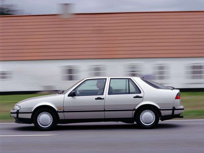 Saab 9000 2nd generation sedan 3.0 AT (1993–1998)