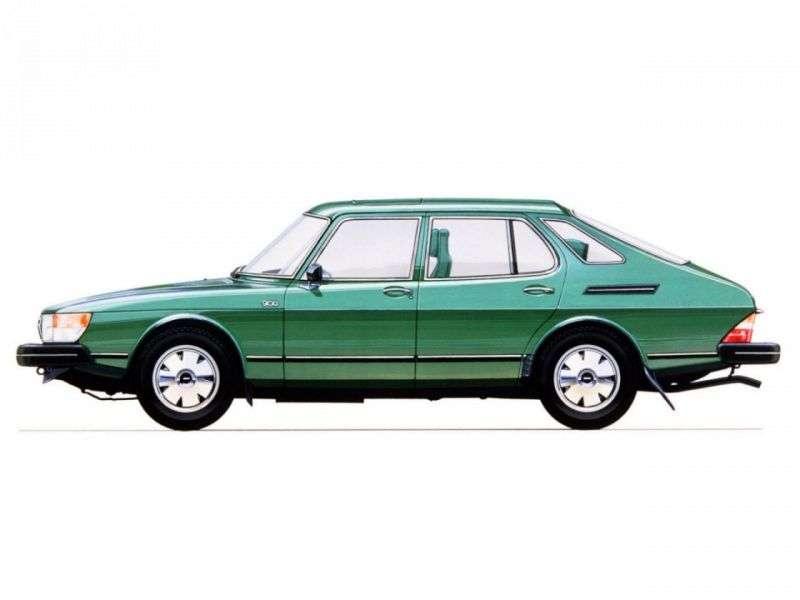 Saab 900 1st generation hatchback 2.0 MT (1979–1980)