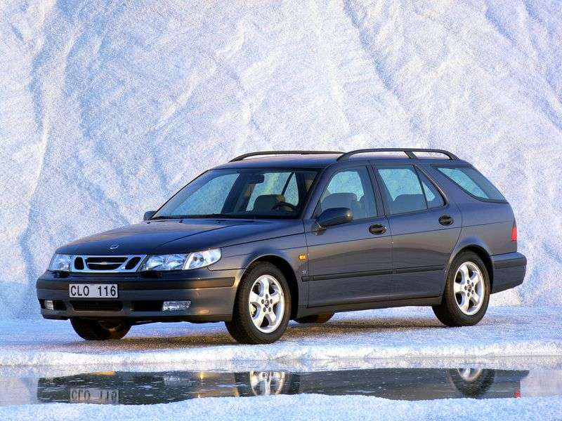 Saab 09.May 1st generation wagon 2.3 T AT (1999–2001)