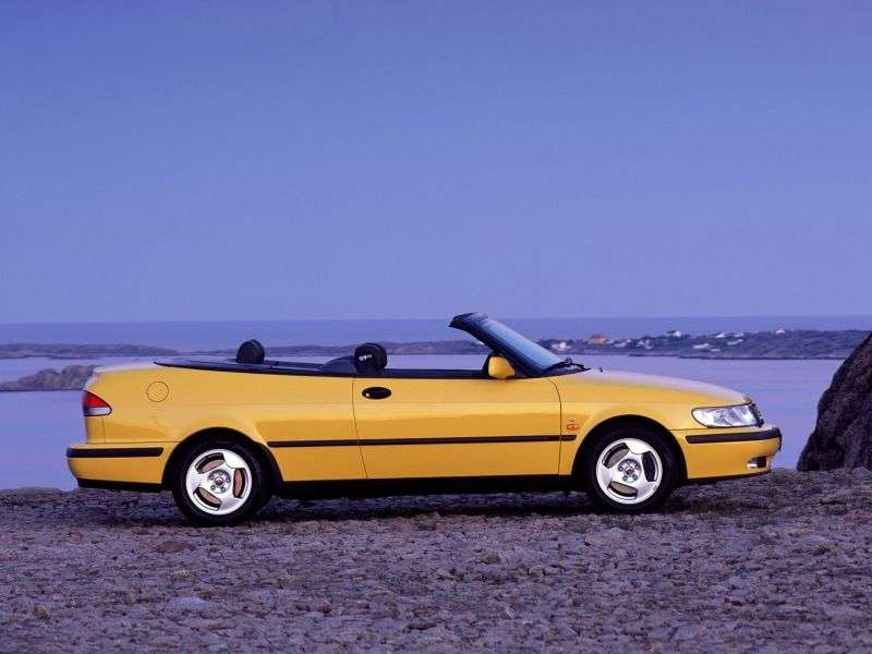 Saab 09.mar 1st generation convertible 2.2 TD MT (2000–2002)