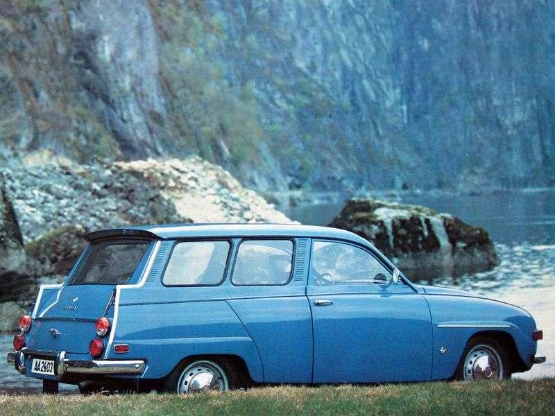 Saab 95 1 generation station wagon 1.5 MT (1976–1977)