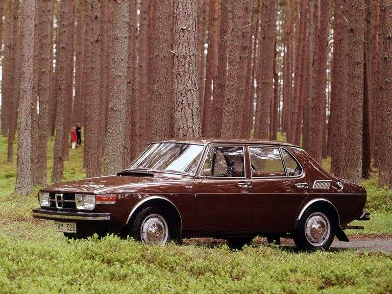 Saab 99 1st generation sedan 1.7 MT (1976–1978)