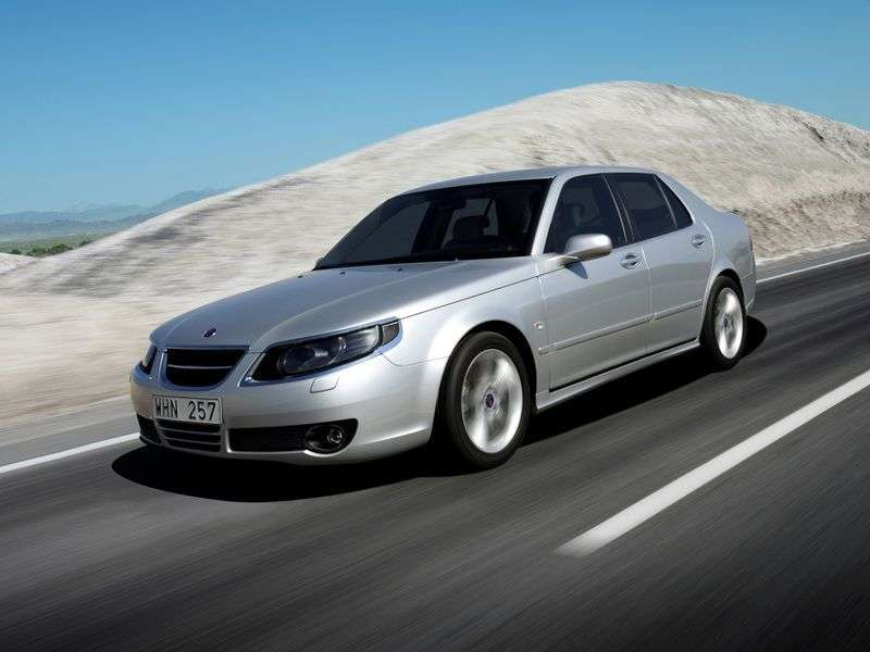 Saab 09.May 1st generation [restyling] sedan 2.0 T AT (2005–2010)
