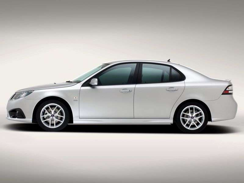 Saab 09.mar 2nd generation [restyling] Sport sedan 1.9 TD AT (2008 – current century)
