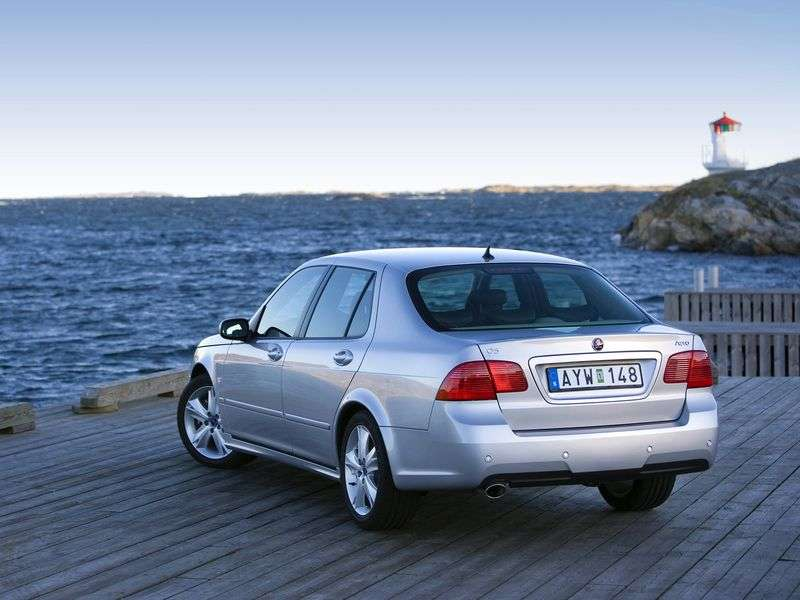 Saab 09.May 1st generation [restyling] sedan 1.9 TDi AT (2005–2010)