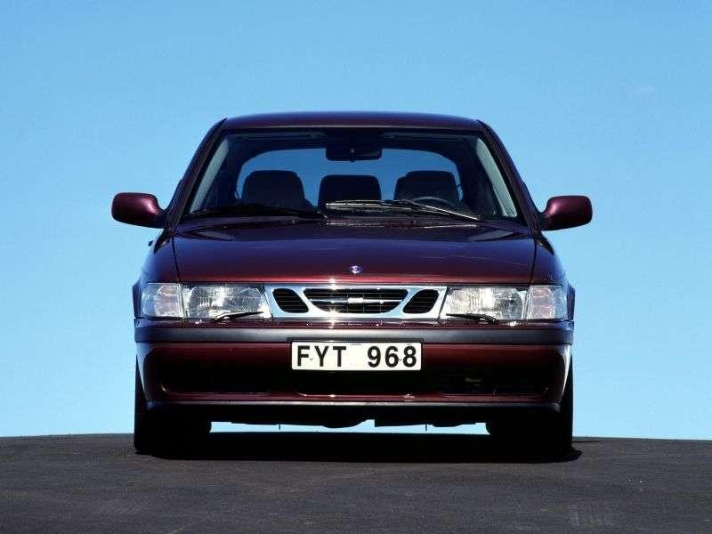 Saab 09.mar 1st generation hatchback 2.0 MT (2000–2002)