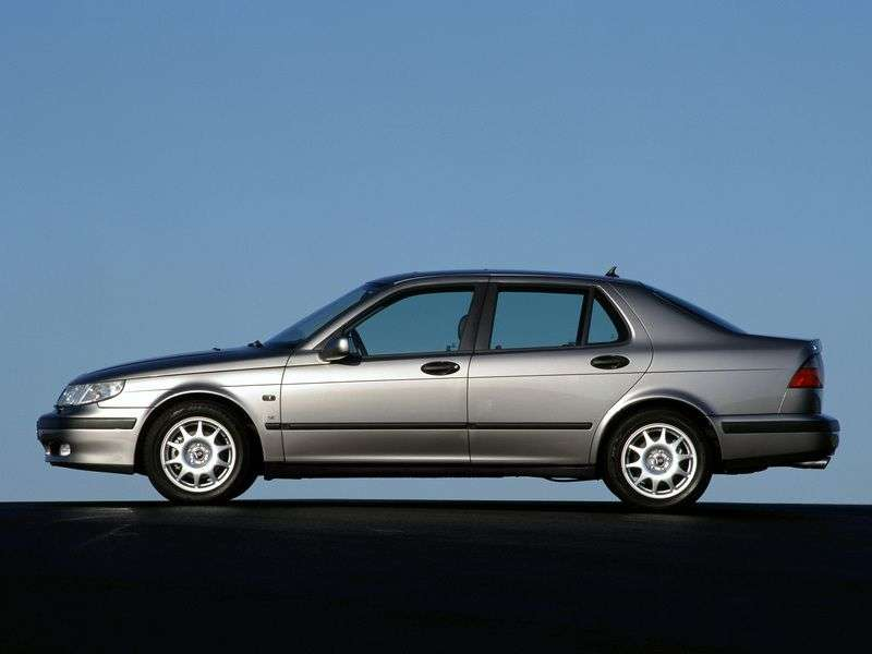 Saab 09.May 1st generation sedan 2.0 T MT (1999–2005)