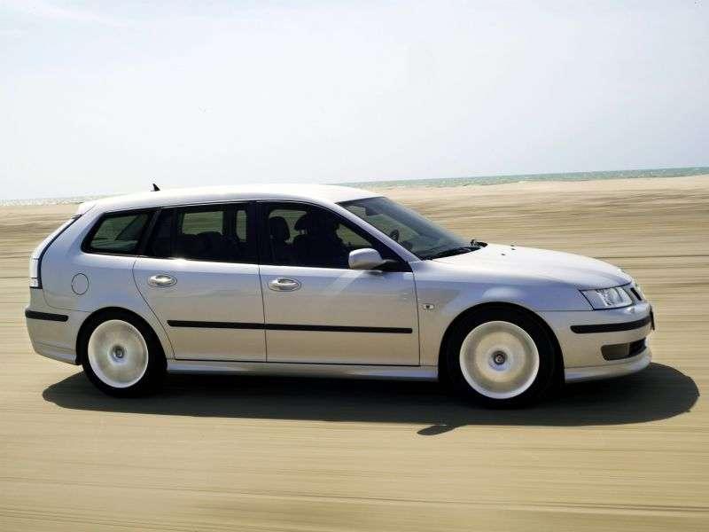 Saab 09.mar 2nd generation wagon 2.8 turbo MT (2005–2007)