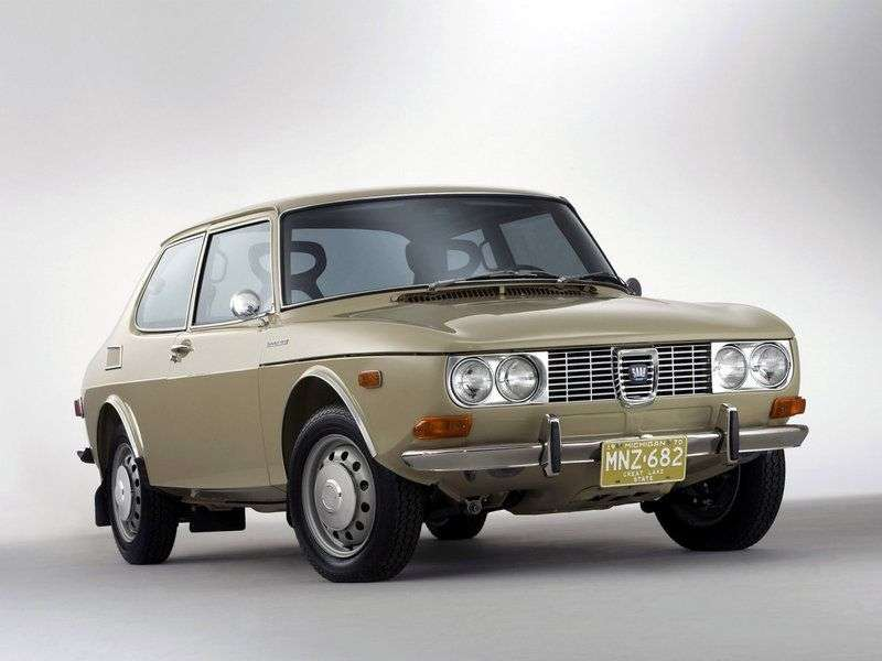 Saab 99 1st generation hatchback 2.0 MT (1976–1980)