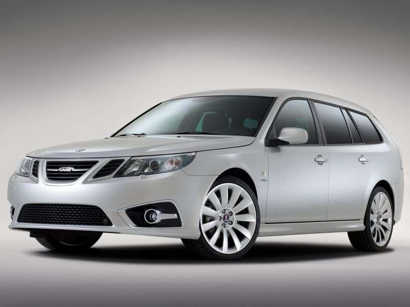 Saab 09.mar 2nd generation [restyling] SportCombi wagon 1.8 AT (2008 – current century)