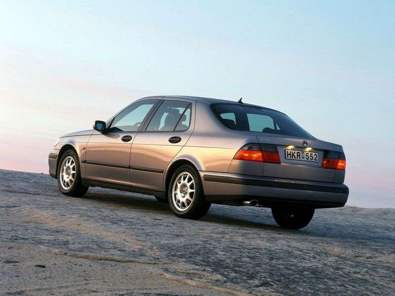 Saab 09.May 1st generation sedan 2.0 T MT (1998–2005)