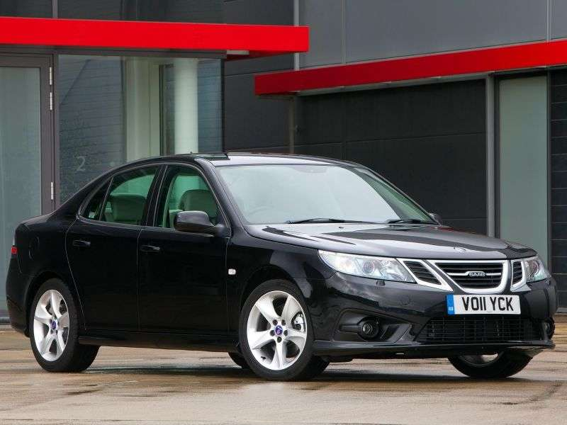 Saab 09.mar 2nd generation [restyling] Sport sedan 1.9 TD MT (2008 – current century)
