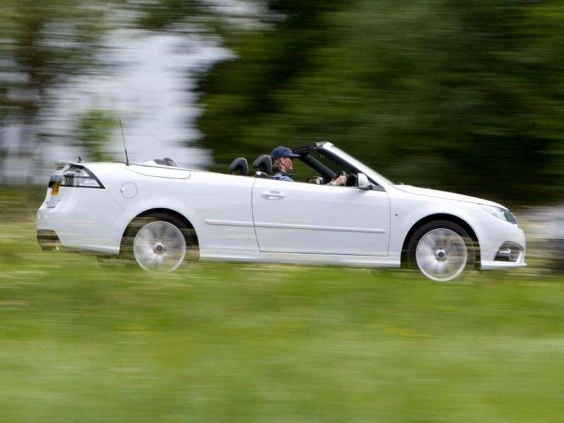 Saab 09.mar 2nd generation [restyling] Convertible 2.0 turbo MT convertible (2008 – current century)