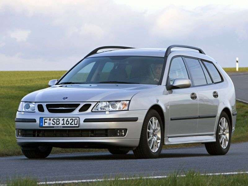 Saab 09.mar 2nd generation wagon 2.0 turbo MT (2005–2007)