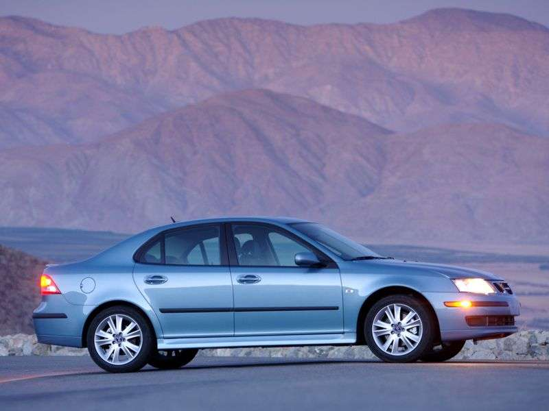 Saab 09.mar 2nd generation sedan 1.8 AT (2003–2007)