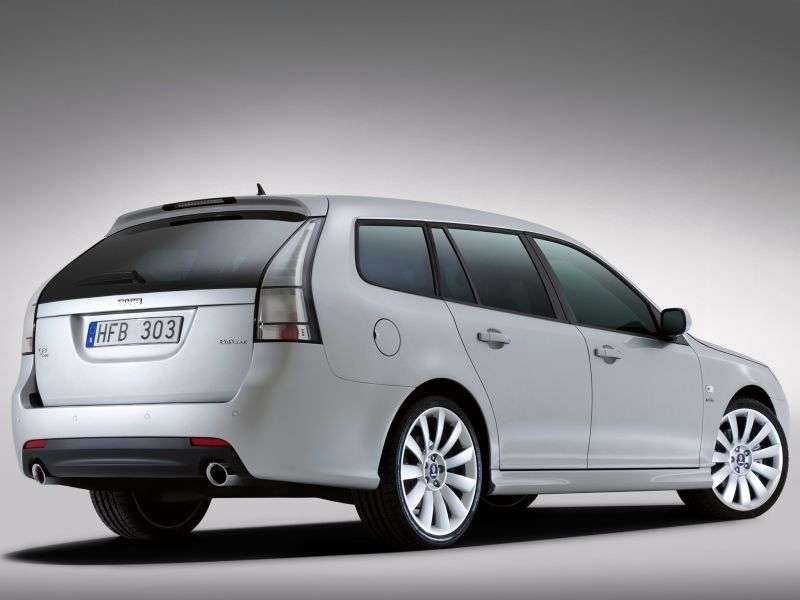 Saab 09.mar 2nd generation [restyled] SportCombi wagon 1.9 TTD AT (2008 – v.)